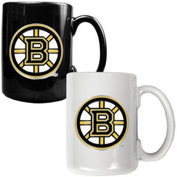 Boston Bruins 2-pc. Ceramic Mug Set