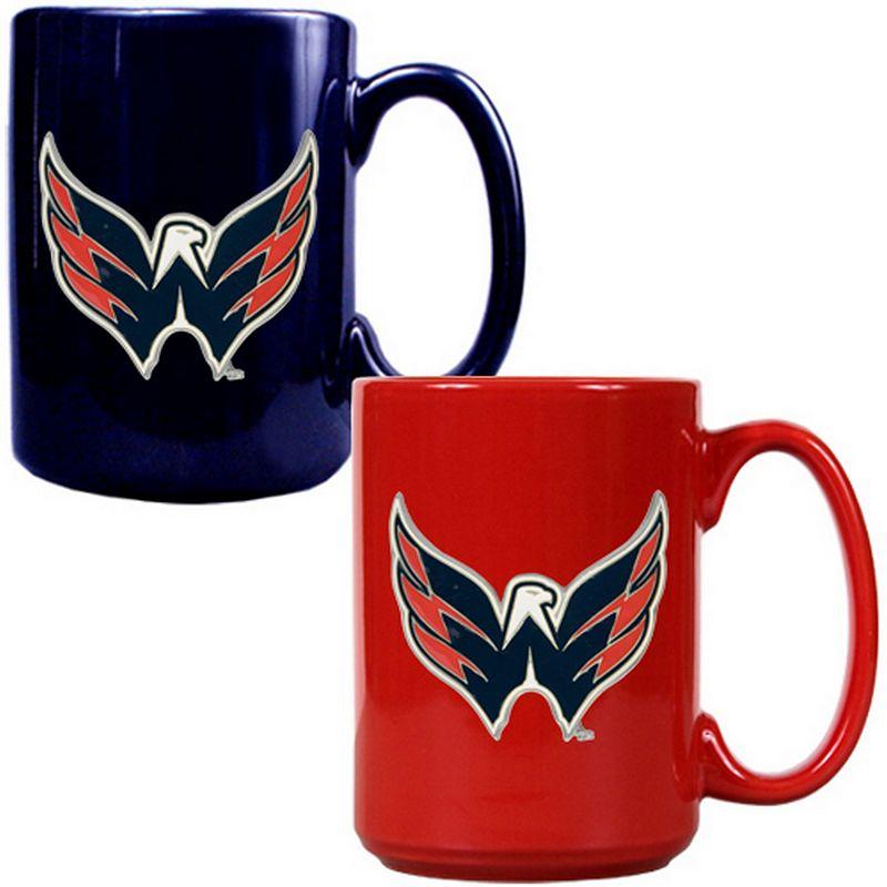 Washington Capitals 2-pc. Ceramic Mug Set