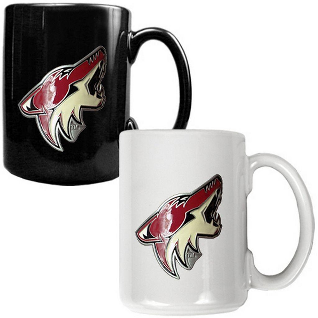 Arizona Coyotes 2-pc. Ceramic Mug Set