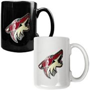 Phoenix Coyotes 2-pc. Ceramic Mug Set