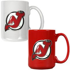 New Jersey Devils 2-pc. Ceramic Mug Set