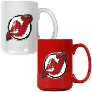 New Jersey Devils 2-pc. Ceramic Mug Set