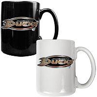 Anaheim Ducks 2 pc Ceramic Mug Set