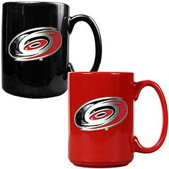 Carolina Hurricanes 2 pc Ceramic Mug Set