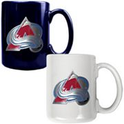 Colorado Avalanche 2-pc. Ceramic Mug Set