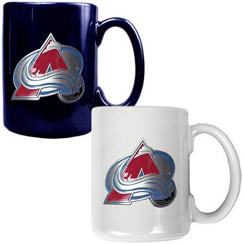 Colorado Avalanche 2-pc. Ceramic Mug Set