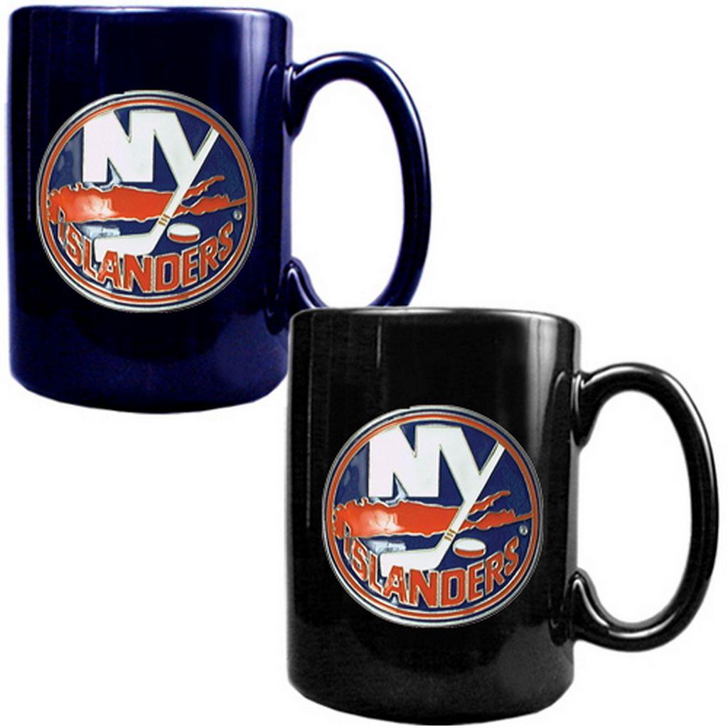 New York Islanders 2-pc. Ceramic Mug Set