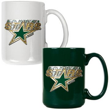 Dallas Stars 2-pc. Ceramic Mug Set