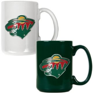 Minnesota Wild 2-pc. Ceramic Mug Set