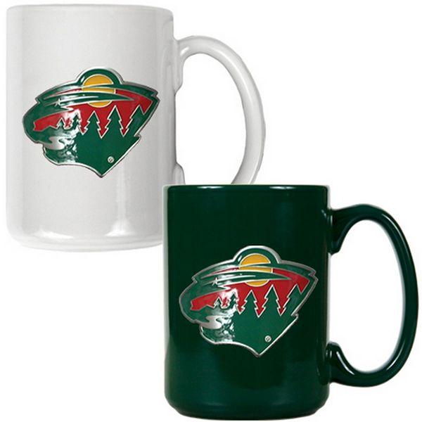 Minnesota Wild 2-pc. Ceramic Mug Set