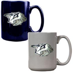 Nashville Predators 2-pc. Ceramic Mug Set