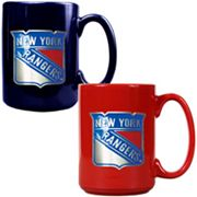 New York Rangers 2-pc. Ceramic Mug Set