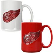 Detroit Red Wings 2-pc. Ceramic Mug Set