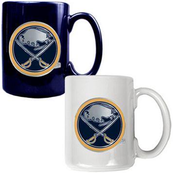 Buffalo Sabres 2-pc. Ceramic Mug Set