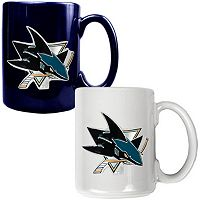 San Jose Sharks 2-pc. Ceramic Mug Set