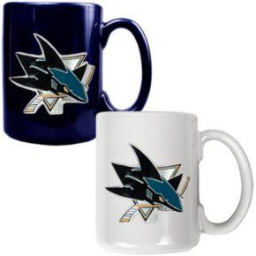 San Jose Sharks 2-pc. Ceramic Mug Set