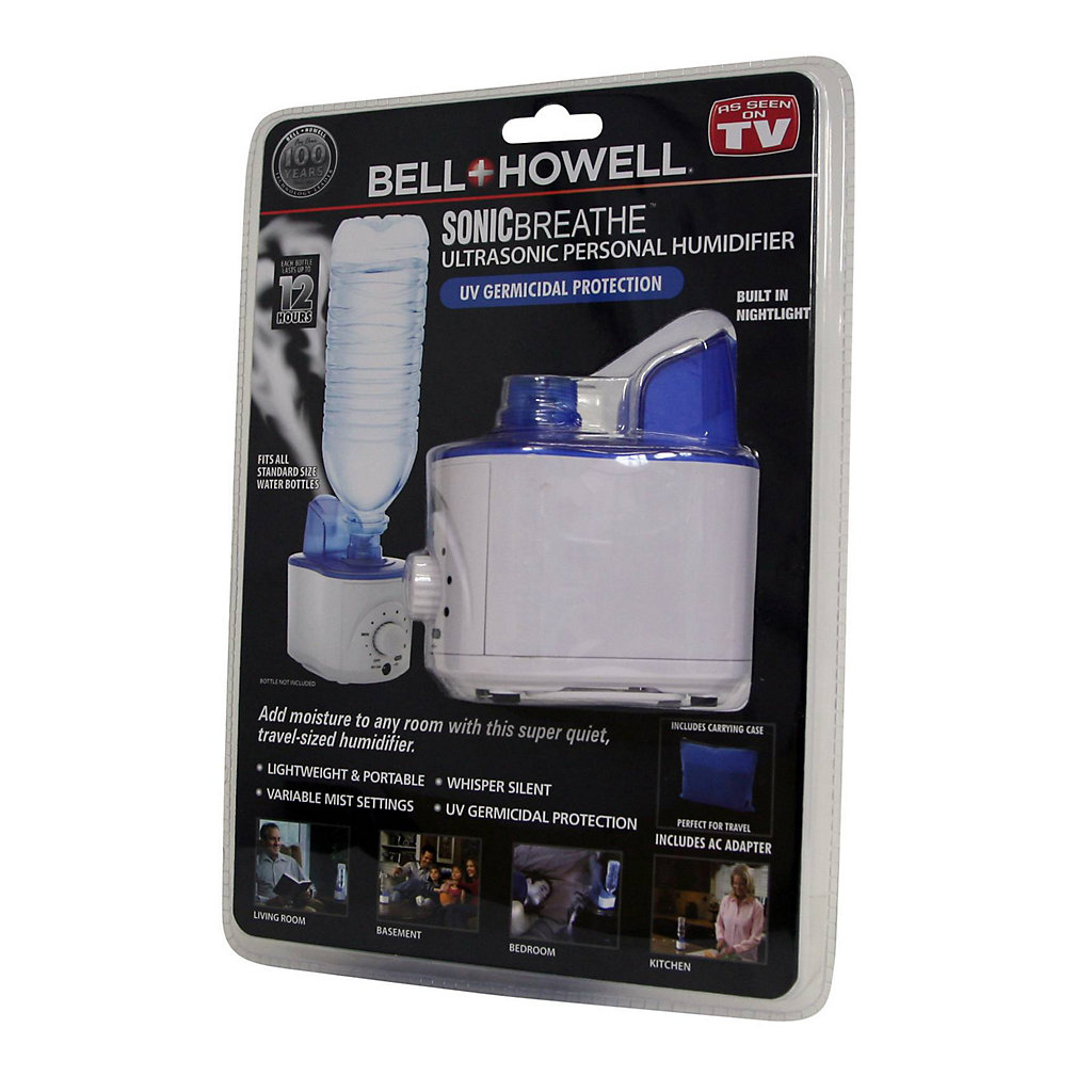 Bell and Howell Ultrasonic Personal Humidifier