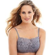 Olga Pretty Lace Full-Figure Camisole Bra - 35263