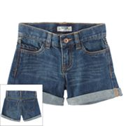 OshKosh B'gosh Roll-Cuff Denim Shorts - Girls 4-6x