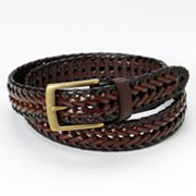 Columbia Sportswear Company Windrock Braided Leather Belt