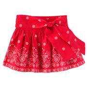 OshKosh B'gosh Paisley Skirt - Girls 4-6x