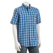 Chaps Easy-Care Edisto Plaid Casual Button-Down Shirt