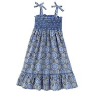 OshKosh B'gosh Geometric Floral Smocked Dress - Girls 4-6x