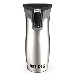 Keurig® Contigo Stainless Steel Travel Mug