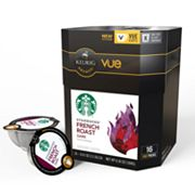 Keurig Vue Pack Starbucks French Roast Blend Coffee - 16-pk.