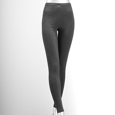 Simply Vera Vera Wang Solid Leggings - Extended Size