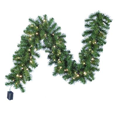 Kurt Adler 6-ft. Pre-Lit LED Douglas Fir Garland