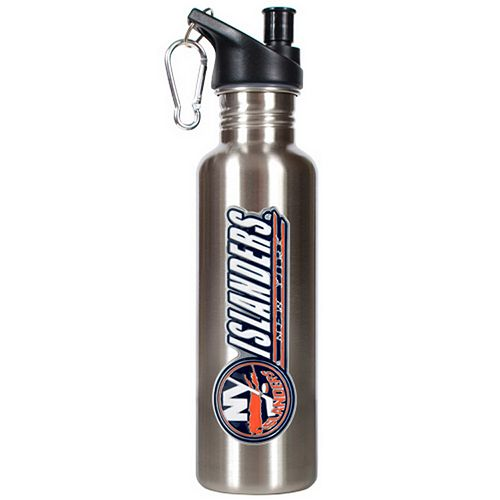 New York Islanders Stainless Steel Water Bottle