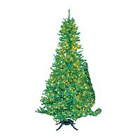 Kurt Adler 10-ft. Sugar Pine Pre-Lit Slim Christmas Tree