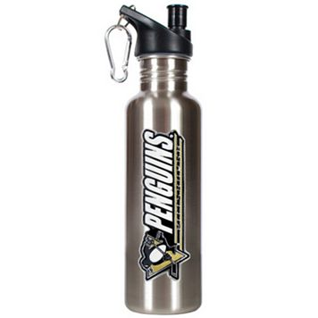 Pittsburgh Penguins Stainless Steel Water Bottle