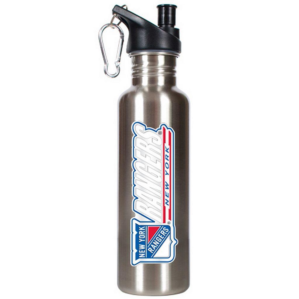 New York Rangers Stainless Steel Water Bottle