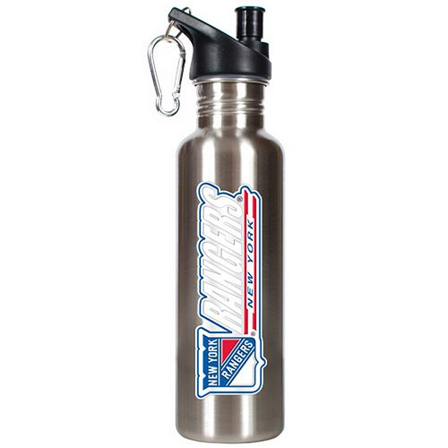 New York Rangers Stainless Steel Water Bottle
