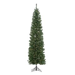 Kurt Adler 6-ft. Winchester Pine Pre-Lit Pencil Artificial Christmas Tree