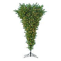 Kurt Adler 7.5-ft. Upside Down Pre-Lit Artificial Christmas Tree
