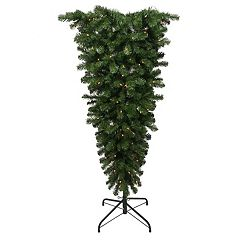 Kurt Adler 5-ft. Upside Down Pre-Lit Artificial Christmas Tree