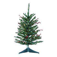 Kurt Adler 2-ft. Pine Pre-Lit  Desktop Artificial Christmas Tree