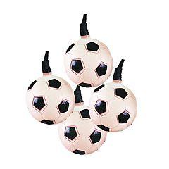 Kurt Adler Soccer Ball String Light Set