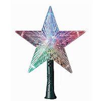 Kurt Adler Color-Changing Star Pre-Lit LED Tree Topper