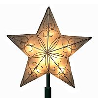 Kurt Adler Indoor Star Pre-Lit Tree Topper