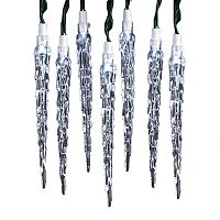 Kurt Adler Icicle String Light Set