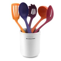 KitchenAid 6-pc. Kitchen Tool & Ceramic Crock Set