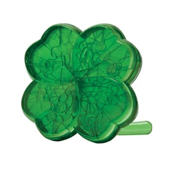 3D Crystal Four-Leaf Clover Puzzle