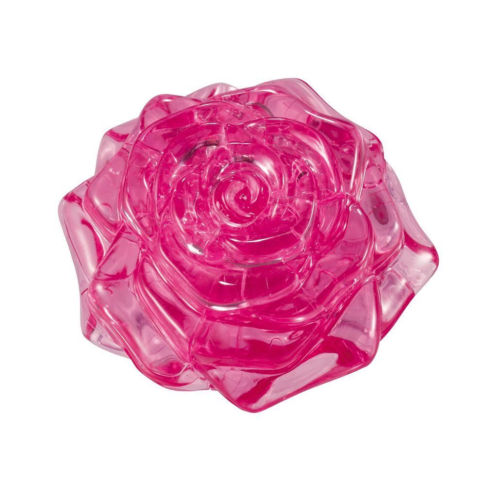 3D Crystal Rose Puzzle