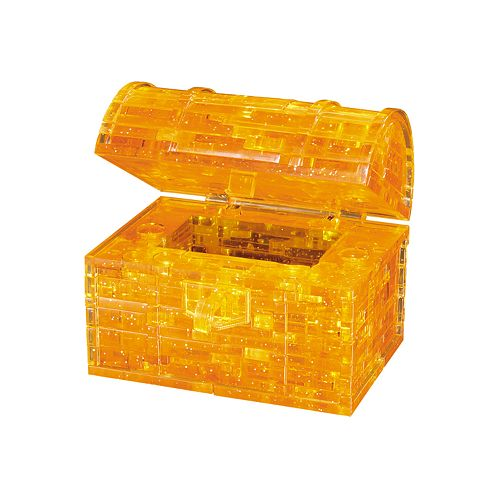 3D Crystal Treasure Chest Puzzle