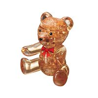 3D Crystal Teddy Bear Puzzle