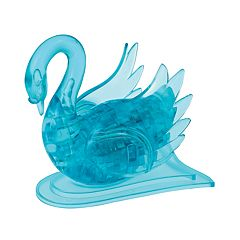 3D Crystal Swan Puzzle
